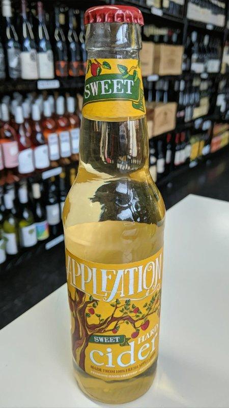 Appleation Appleation Sweet Hard Cider NV 12oz