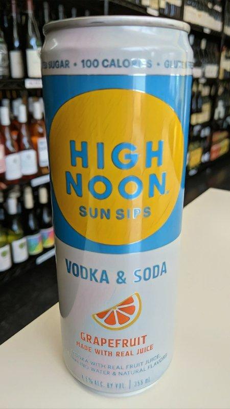 High Noon Sun Sips High Noon Vodka & Soda Grapefruit Hard Seltzer 12oz