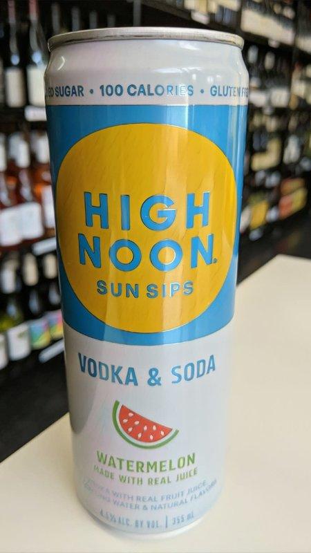High Noon Sun Sips High Noon Vodka & Soda Watermelon Hard Seltzer 12oz