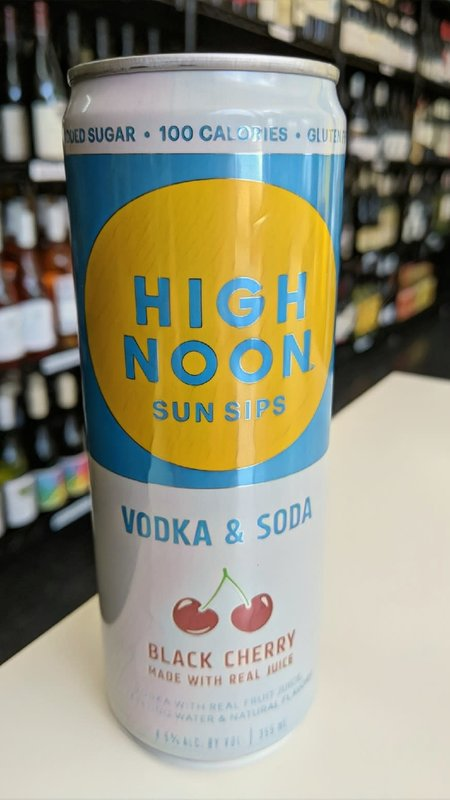 High Noon Sun Sips High Noon Vodka & Soda Black Cherry Hard Seltzer 12oz