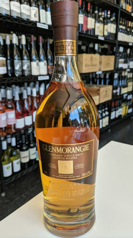 Glenmoragie Glenmorangie Extremely Rare 18Y Scotch 750ml