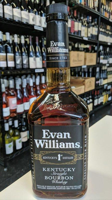 Evan Williams Evan Williams Black Bourbon 1L