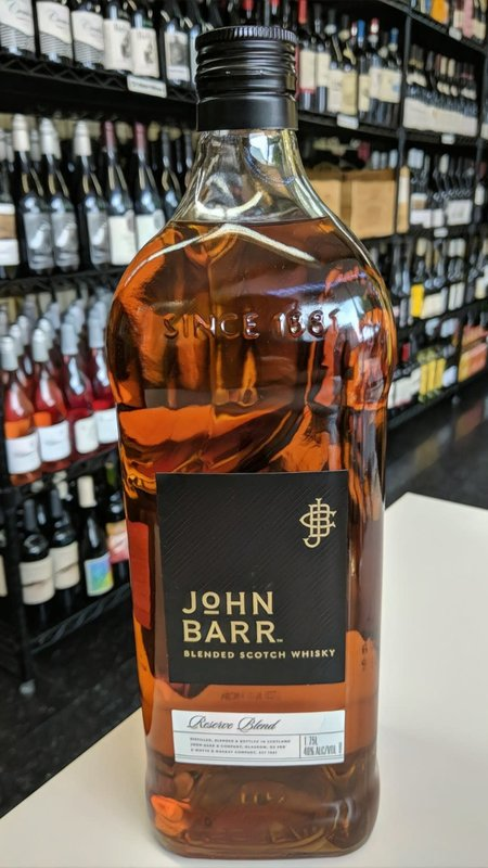 John Barr John Barr Reserve Whiskey 1.75L