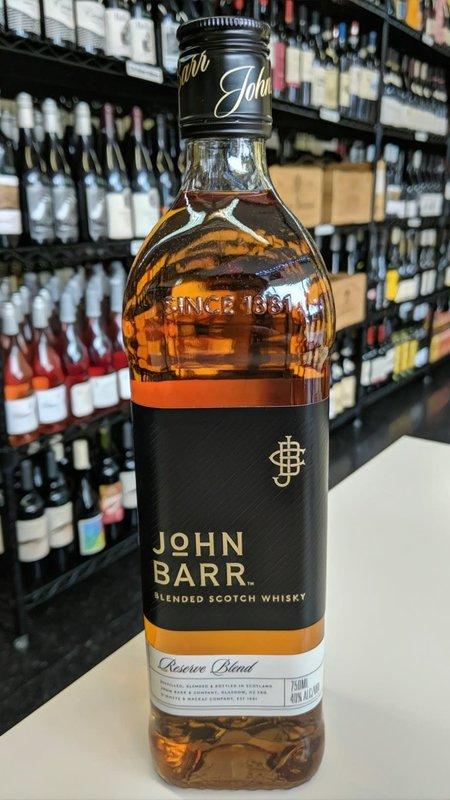 John Barr John Barr Reserve Whiskey 750ml