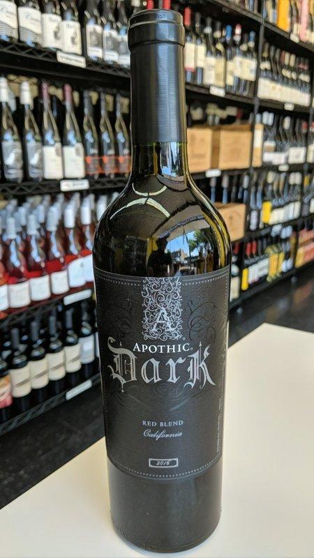 Apothic Apothic Dark 2017 750ml