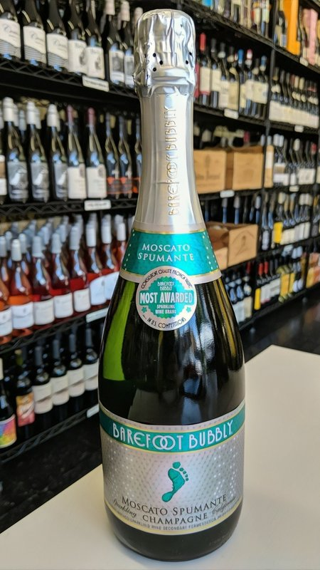 Barefoot Barefoot Bubbly Moscato Champagne NV 750ml