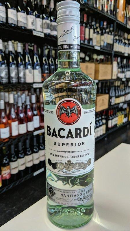 Bacardi Bacardi Superior Rum 750ml