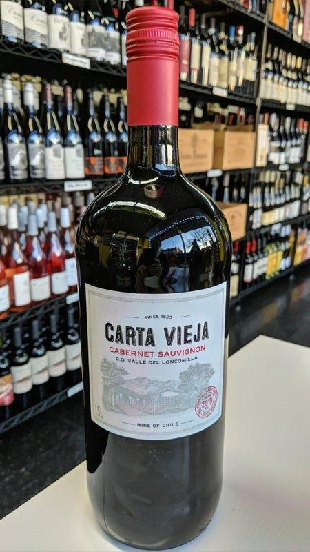 Carta Vieja Carta Vieja Cabernet Sauvignon 2019 1.5L