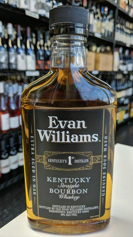 Evan Williams Evan Williams Black Bourbon 375ml