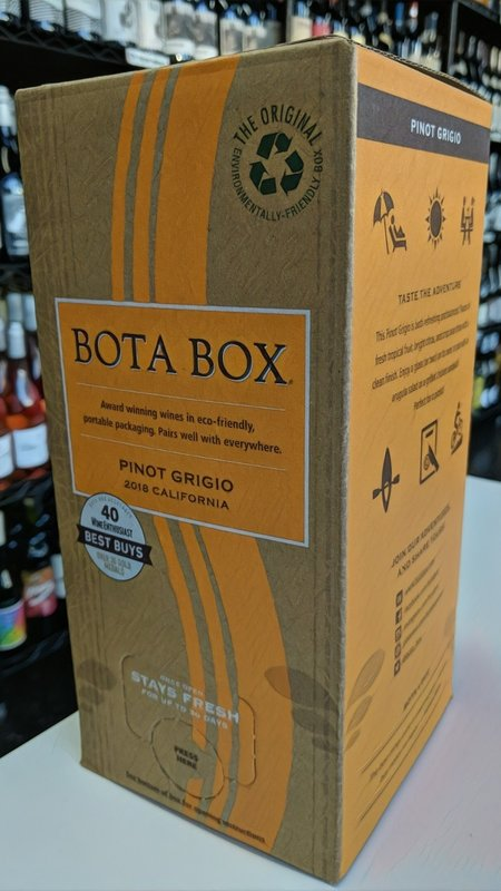 Bota Box Bota Box Pinot Grigio 2018 3L