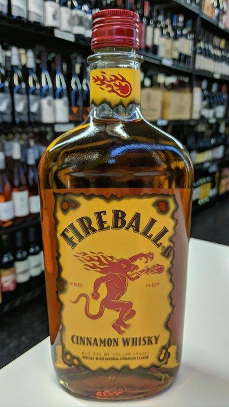 Fire Ball Fireball Cinnamon Whisky 750ml
