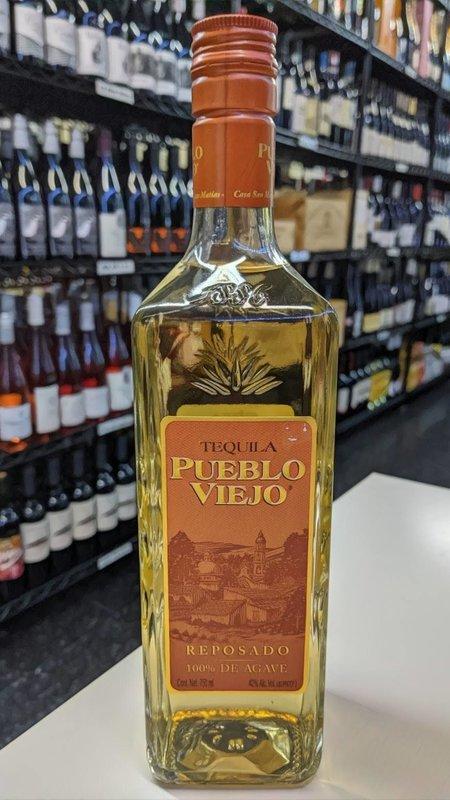 Pueblo Viejo Pueblo Viejo Reposado Tequila 750ml