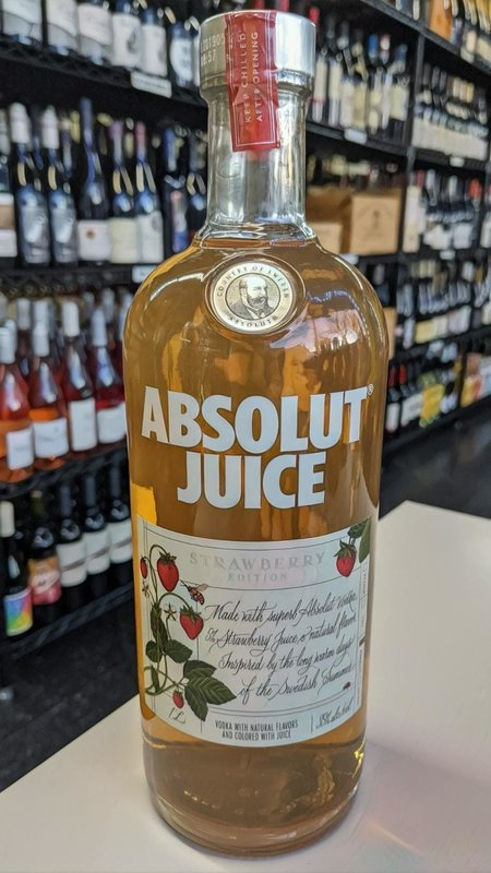 Absolut Absolut Vodka Juice Strawberry 1L