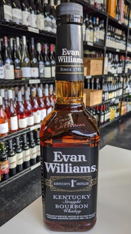 Evan Williams Evan Williams Black Bourbon 750ml