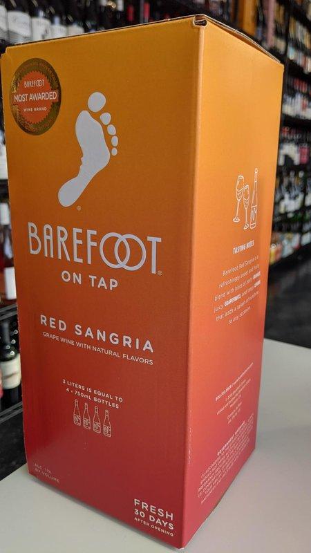 Barefoot Barefoot Red Sangria NV 3L
