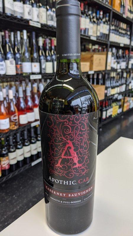 Apothic Apothic Cabernet Sauvignon 2018 750ml