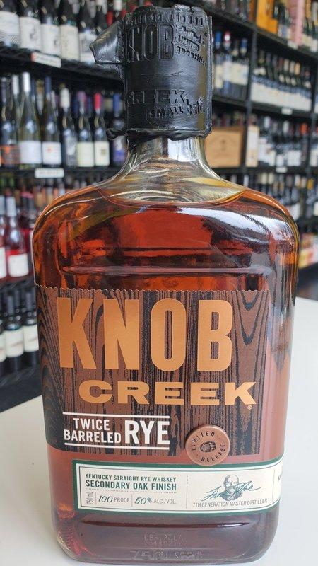 Knob Creek Knob Creek Twice Barreled Rye 750ml