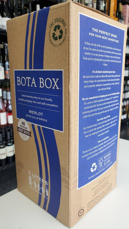 Bota Box Bota Box Merlot 2018 3L