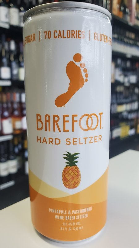 Barefoot Barefoot Pineapple & Passionfruit Hard Seltzer NV 250ml