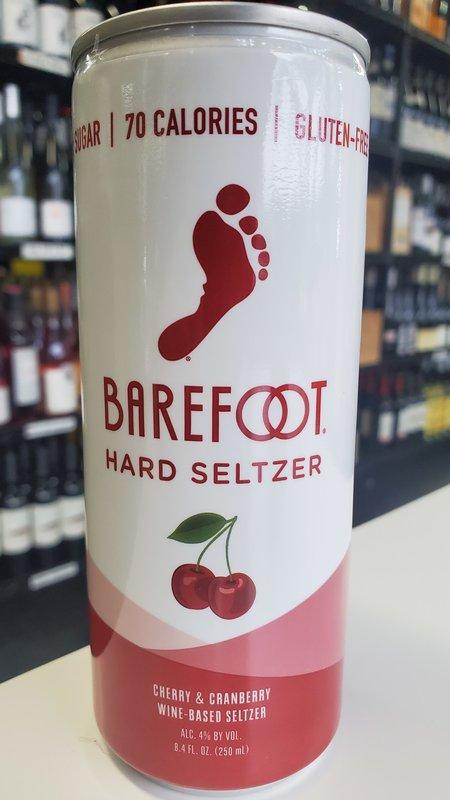 Barefoot Barefoot Cherry & Cranberry Hard Seltzer NV 250ml