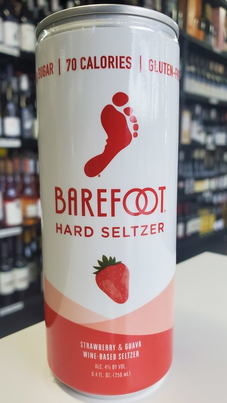 Barefoot Barefoot Strawberry & Guava Hard Seltzer NV 250ml
