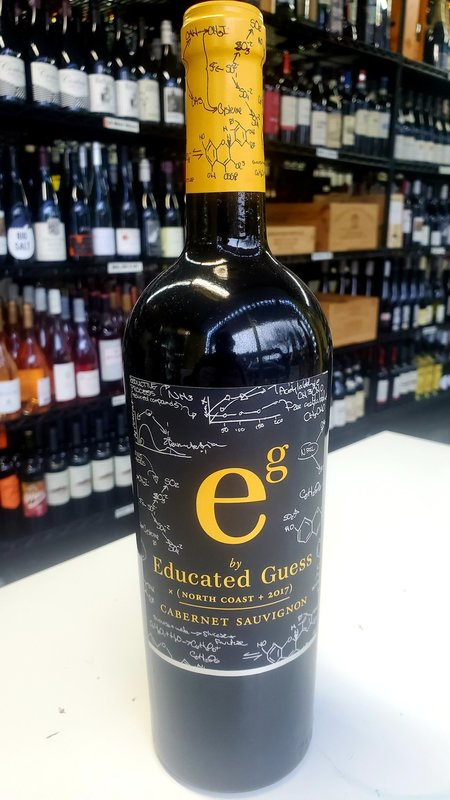 Educated Guess Educated Guess North Coast Cabernet Sauvignon 2017 750ml