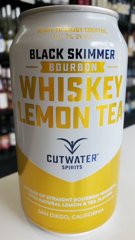 Cutwater Cutwater Whiskey Lemon Tea Bourbon 12oz