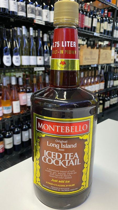 Montebello Montebello Iced Tea Cocktail 1.75L