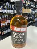 Cedar Ridge Cedar Ridge Single Malt Whiskey 750ml