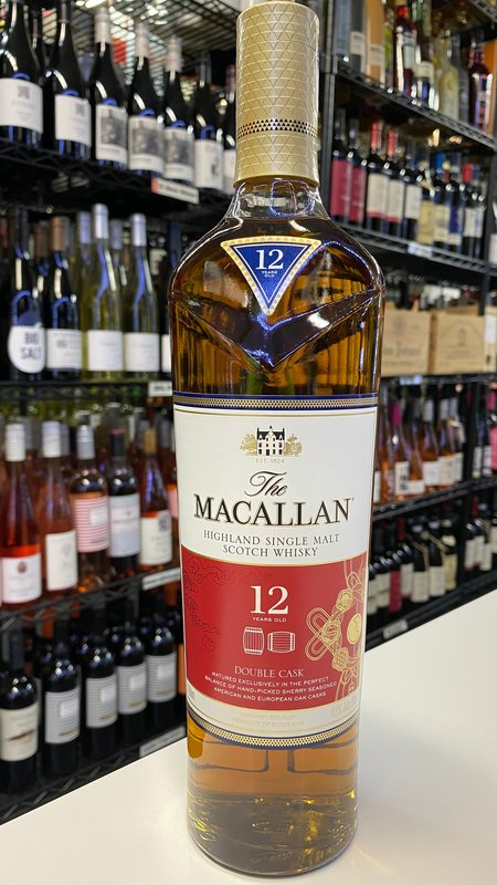 Macallan The Macallan 12 Year Double Cask Scotch Whisky 750ml