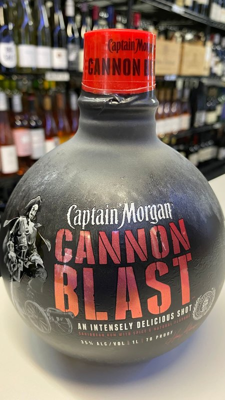 Captain Morgan Captain Morgan Cannon Blast Rum 1L