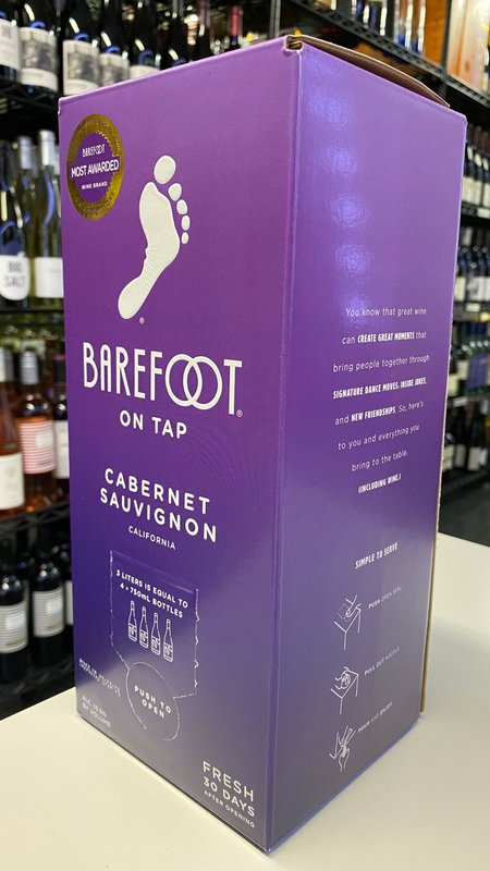 Barefoot Barefoot Cabernet Sauvignon NV 3L