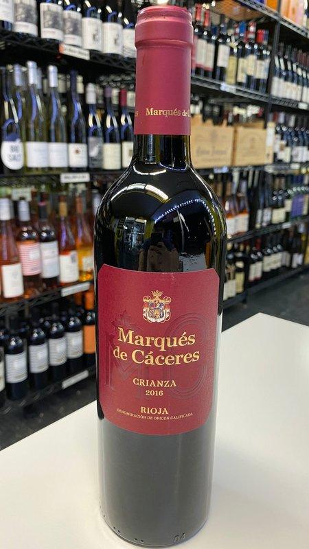 Marques de Caceres Marques de Caceres Rioja Crianza Tempranillo 2016 750ml