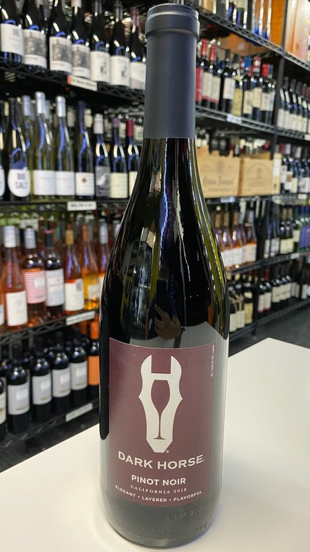 Dark Horse Dark Horse Pinot Noir 2018 750ml