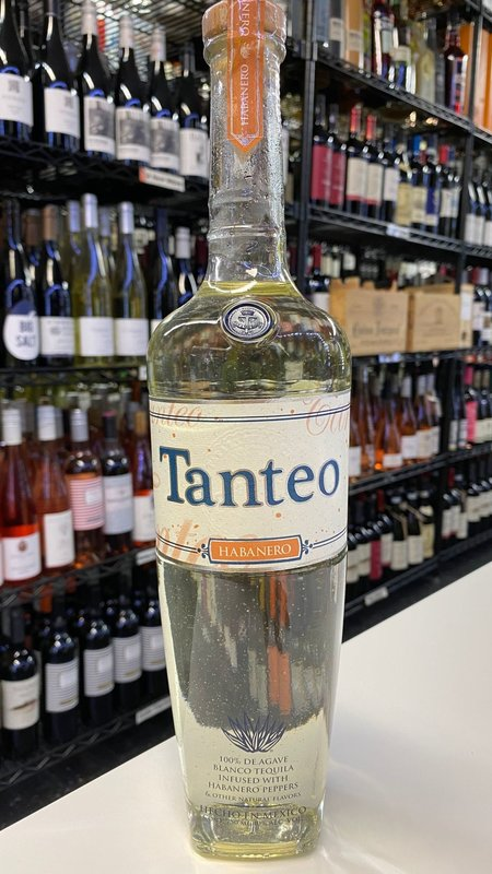 Tanteo Tanteo Habanero Tequila 750ml