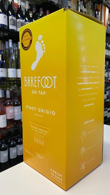 Barefoot Barefoot Pinot Grigio NV 3L