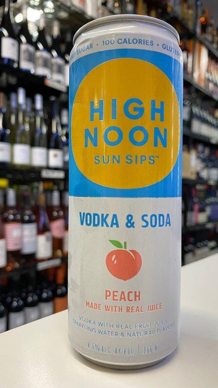 High Noon Sun Sips High Noon Peach Hard Seltzer 12oz