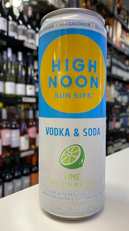 High Noon Sun Sips High Noon Lime Hard Seltzer 12oz