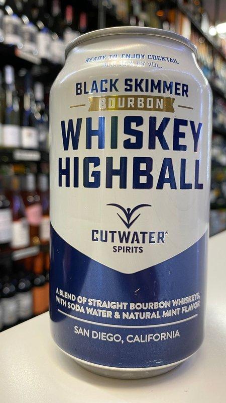 Cutwater Cutwater Whiskey Highball Bourbon 12oz