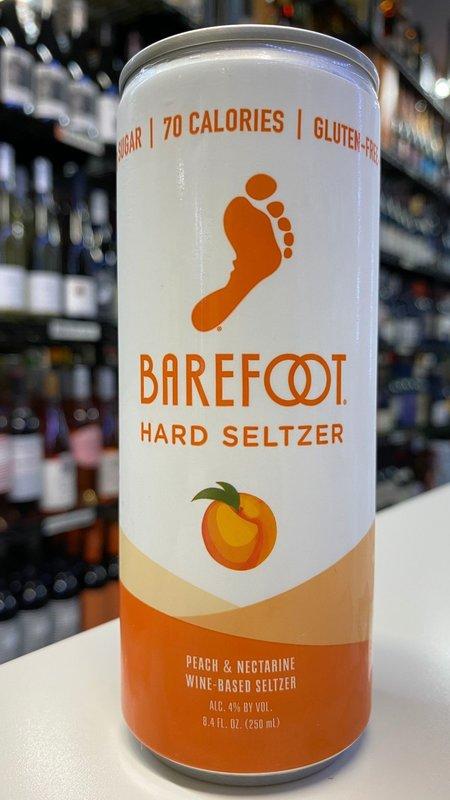 Barefoot Barefoot Peach Nectar Hard Seltzer NV 250ml