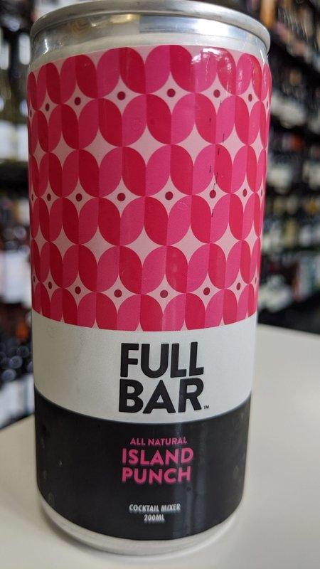 Full Bar Full Bar Island Punch 200ml