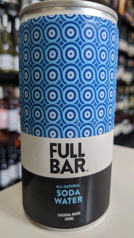 Full Bar Full Bar Soda Water 200ml