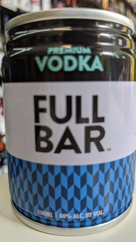 Full Bar Full Bar Premium Vodka 100ml
