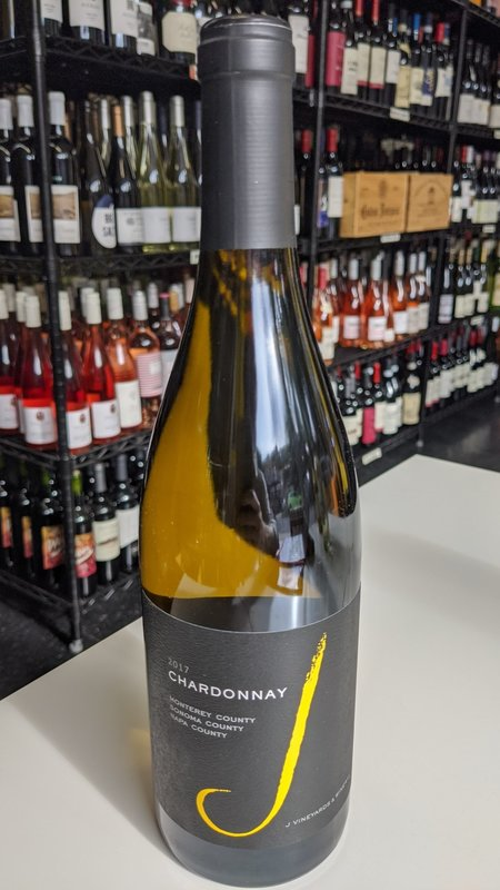 J Vineyards J Vineyards Russian River Chardonnay 2017 750ml