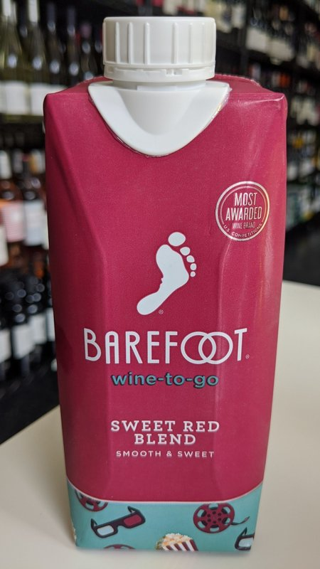 Barefoot Barefoot Sweet Red 2019 500ml