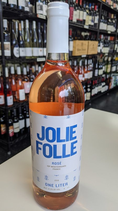 Jolie Folle Jolie Folle Rose 2019 1L