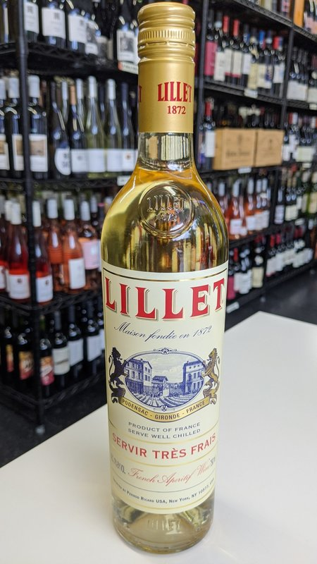Lillet Aperitif Lillet Aperitif Blanc Vermouth NV 750ml
