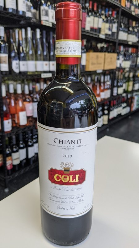 Coli Coli Chianti 2019 750ml