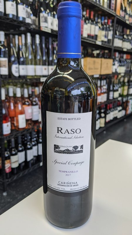 Raso Raso Tempranillo 2014 750ml