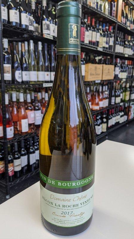 Domaine Chene Domaine Chene Macon La Roche Chardonnay 2017 750ml